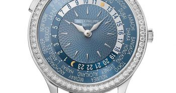 Meet The Swiss Made Diamonds Patek Philippe World Time ladies' Replica Watches Ref.7130
