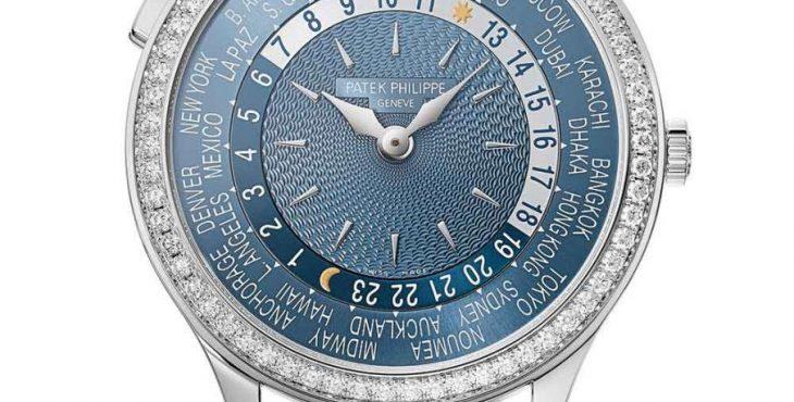 Patek Philippe 7130 ladies' World Time replica watch