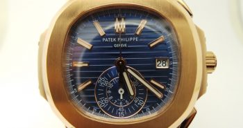 Yellow Gold Blue Dial Patek Philippe Nautilus Chronograph 5980 Replica Watch – 1:1 Original