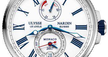 Cheapest Ulysse Nardin Marine Chronometer Annual Calendar Monaco Watch Replica Watches Free Shipping