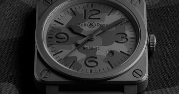 Bell & Ross BR 03-92 Black Camo Watch Japanese Movement Replica
