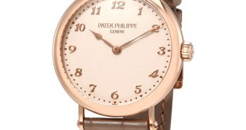 Patek Philippe Cream Dial 18kt Rose Gold Automatic Ladies Watch Item No. 7200R-001
