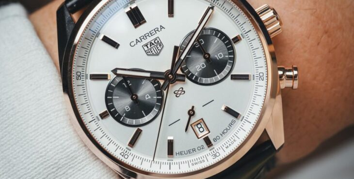 TAG Heuer Unveils Carrera replica watches Jack Heuer Birthday Gold Limited Edition